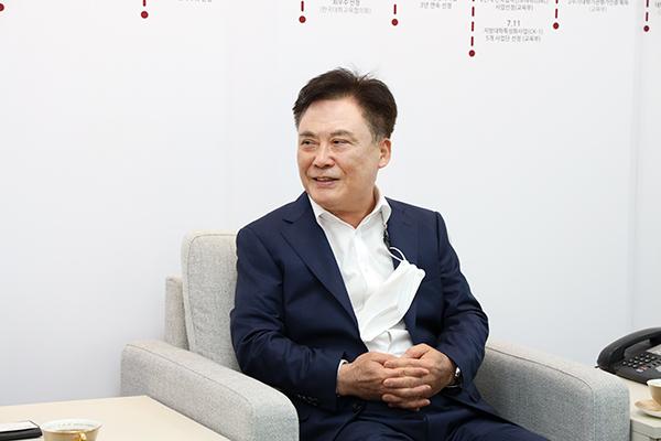 2021-07-07 경산세무서 전재달 서장 접견